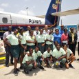SIMPSON BAY, St. Maarten (JUne 6, 2012)—The Princess Juliana Int'l Airport operating company N.V. (PJIAE) brought smiles to faces of the graduating class of the Prins Willem Alexander School (PWAS) on Friday...