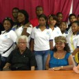 GREAT BAY/MARIGOT, St. Martin (June 5, 2012)—Third-form students of the St. Maarten Academy attended the book fair symposium last Saturday to hear leading Caribbean novelist, essayist, poet, critic, social commentator,...
