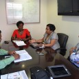 SIMPSON BAY, St. Maarten (June 6, 2012)— Managing Director of Princess Juliana Int'l Airport operating company N.V. (PJIAE), Regina LaBega, met last week with the President of the Collectivité of St. Martin, Hon....
